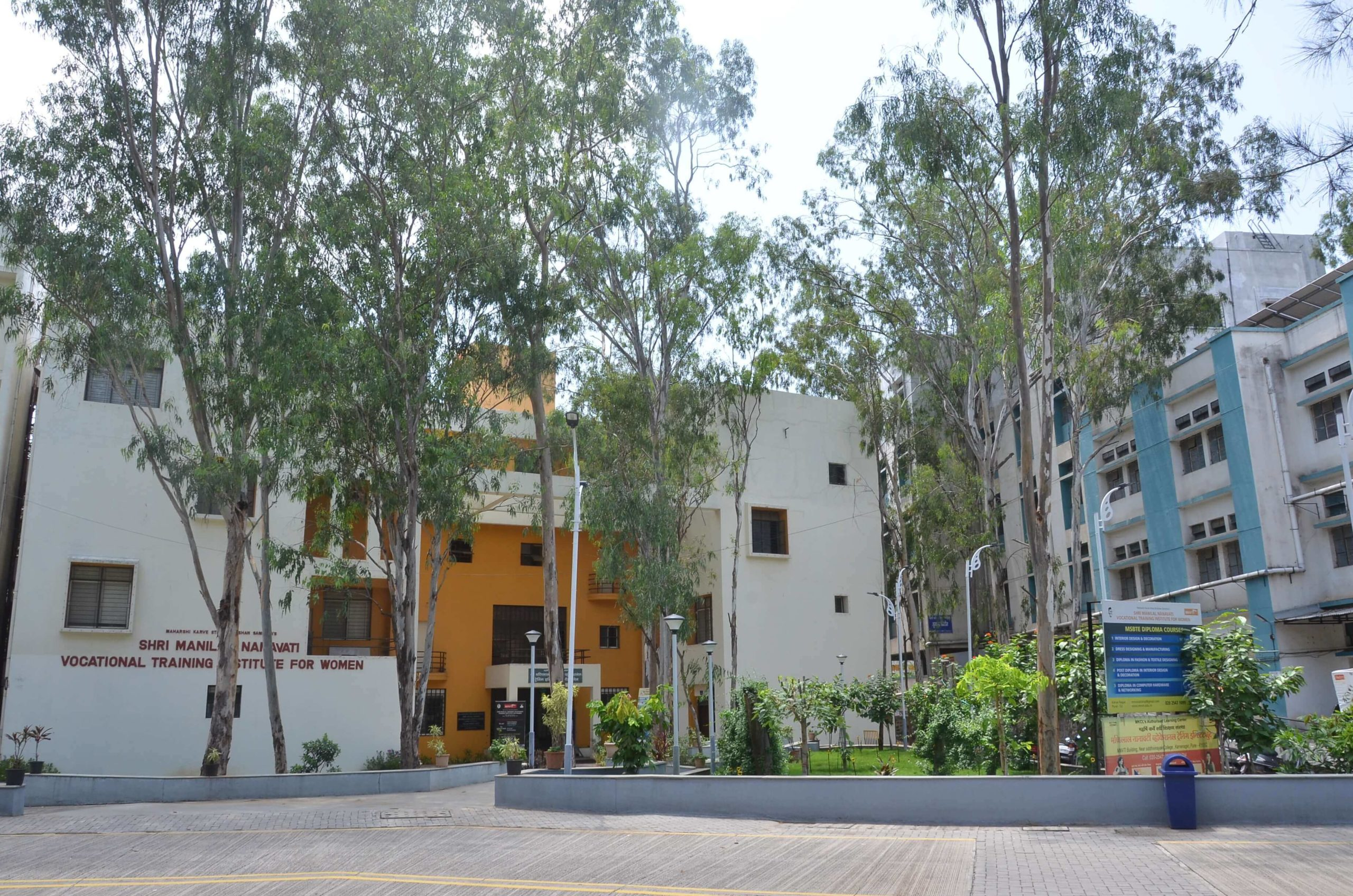 Beautiful Vocational College Campus of MKSSS
