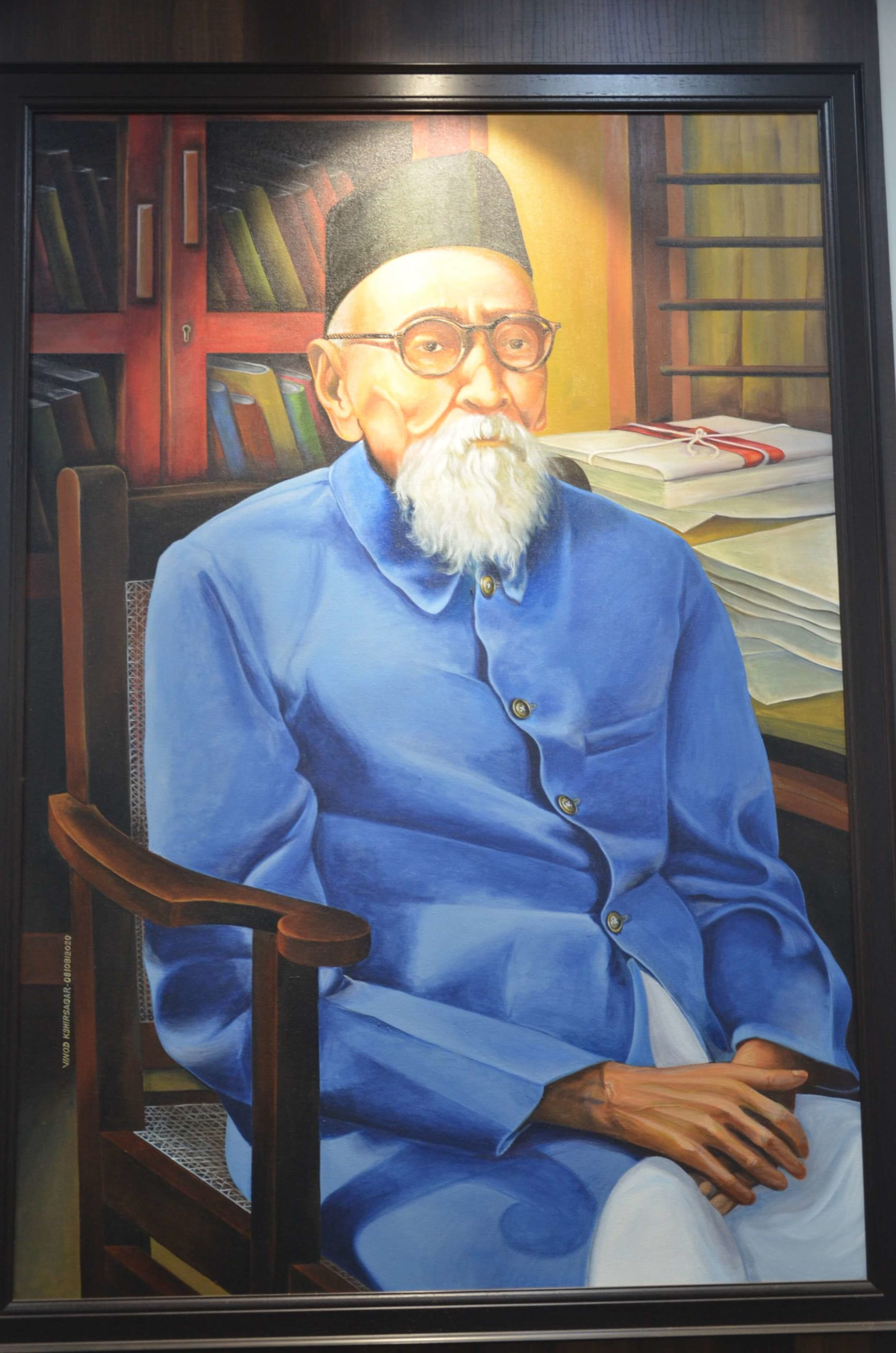 MKSSS's founder: Maharshi Karve, fondly remembered as Anna.