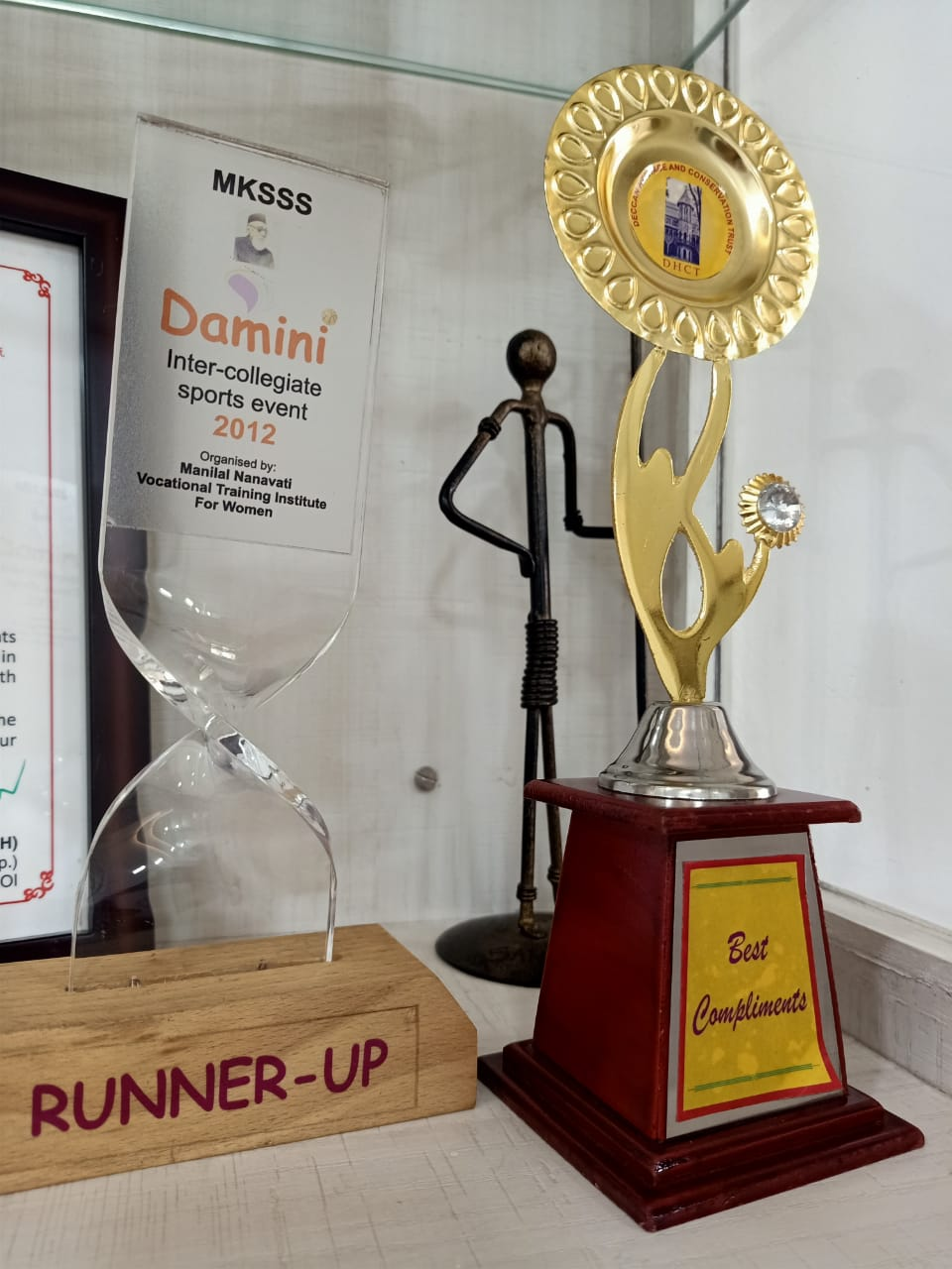 Sports Runner Up Trophy: MNVTI is a Vocational Skills College